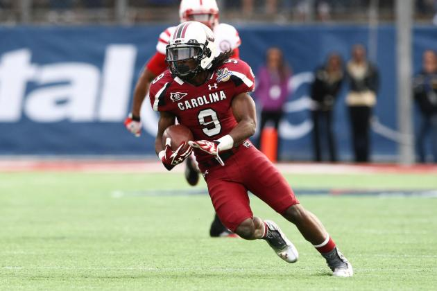 South Carolina Football: The Importance of Ace Sanders in the Offense This Year