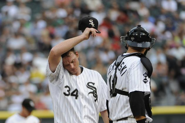 Gavin Floyd's Need to Throw Strikes Starts Now for the Chicago White Sox