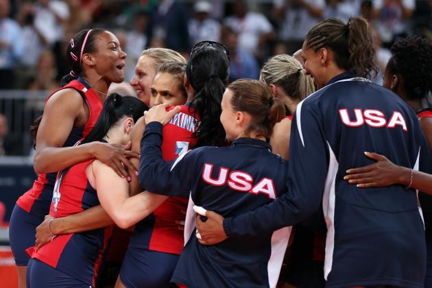 London 2012 US Women's Volleyball: Logan Tom, Veterans Swing Again at Gold