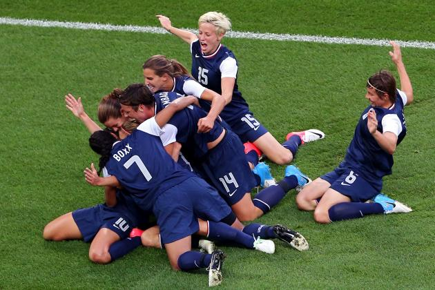 USA 2-1 Japan: Women's Olympic Soccer Gold-Medal Match as It Happened