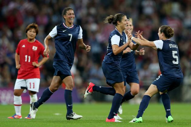 USA vs. Japan Women's Olympic Soccer: Gold Medal Grades, Twitter Reaction & More