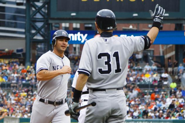 Eric Chavez Filling Void Left by Alex Rodriguez Injury for New York Yankees