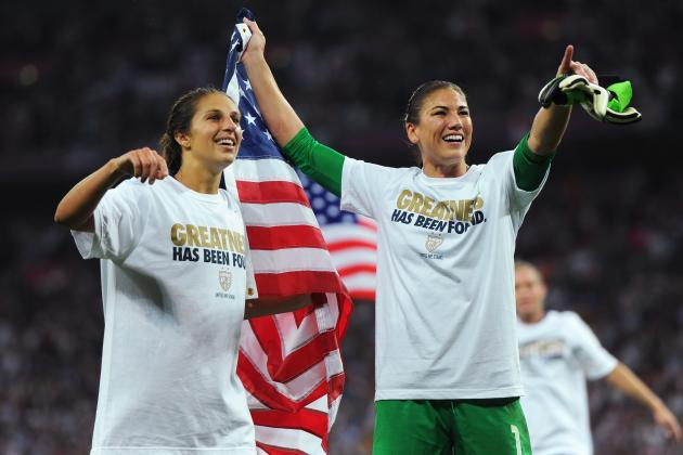 Carli Lloyd and Hope Solo Inspire Team USA to Olympic Gold Against Japan