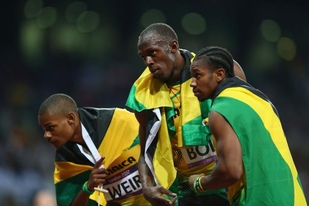 London 2012 Track and Field Men's 200m: Jamaica Dominates with Podium Sweep