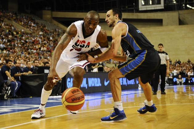 Olympic Basketball 2012 Semifinals: Team USA vs. Argentina Preview