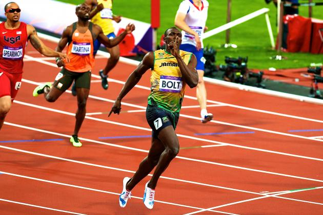 Usain Bolt Wins 2012 Olympic Men's 200-Meter Gold Medal
