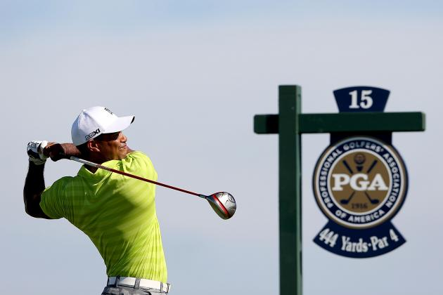 PGA Championship Results 2012: Dissecting the Leaderboard After Round 1