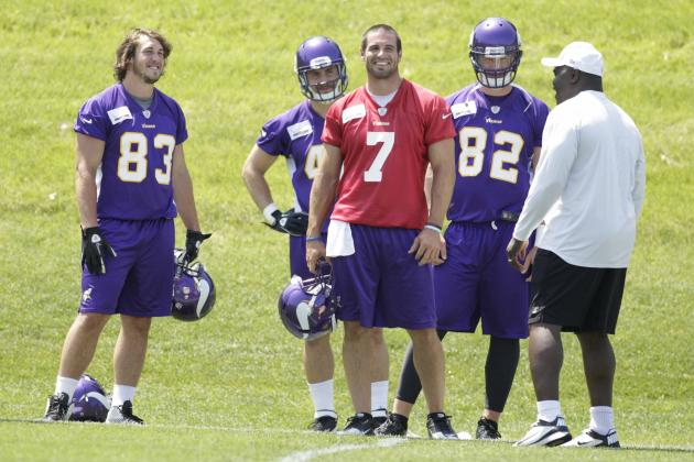 Fantasy Football: Why Vikings Tight End Kyle Rudolph Is Worth Wait in 2012