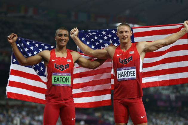 Men's Decathlon 2012: Ashton Eaton, Trey Hardee Best Decathlon Duo Ever