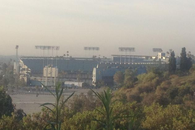 Moving the L.A. Dodgers to Downtown and the NFL to Chavez Ravine Makes Sense