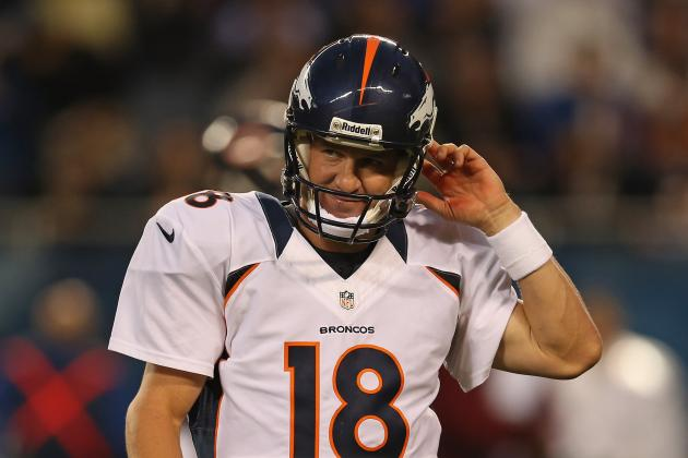 Peyton Manning: Mediocre Broncos Debut Means Nothing to NFL Legend