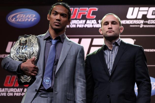 UFC 150 Weigh-in Results for Benson Henderson vs. Frankie Edgar Fight Card