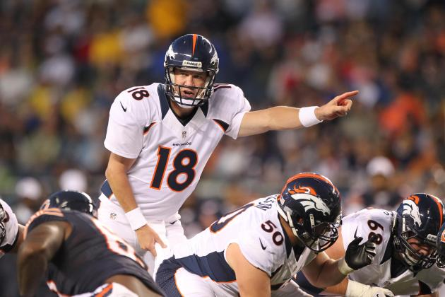 Broncos vs. Bears: Peyton Manning Shakes off the Dust
