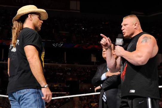WWE Opinion: Why Brock Lesnar Threatening Shawn Michaels Worked