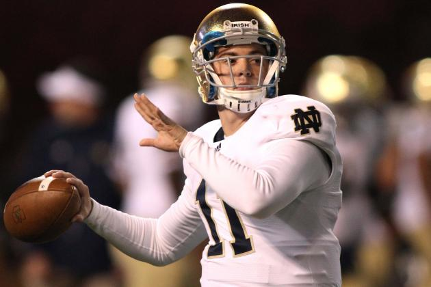 Notre Dame Football 2012: Tommy Rees Proves Why Keeping Him off Field Is Tough