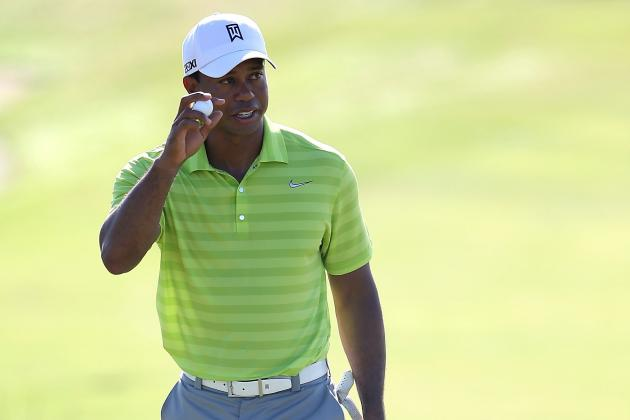 PGA Championship 2012 Leaderboard Day 2: What Tiger Woods Must Do to Climb Board