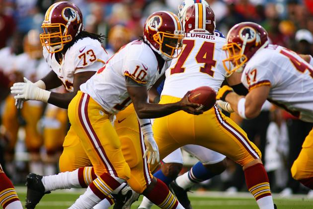 Full Report Card for Robert Griffin III Preseason Debut