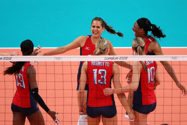 U.S. Olympic Volleyball Team 2012: Why Gold Medal Rematch Will Favor USA