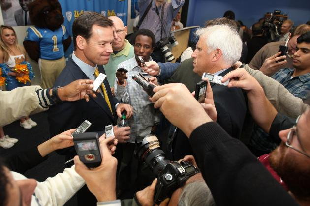 Jim Mora: Comments by UCLA Head Coach Further Prove Why Media Training Is Needed