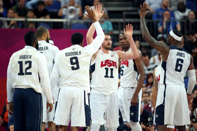 U.S. Men's Basketball Advances to Gold-Medal Game with 109-83 Win over Argentina