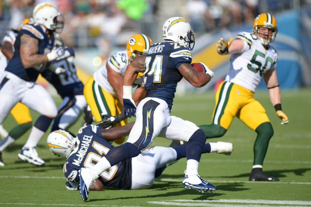 Ryan Mathews Out: San Diego Chargers Should Turn to Curtis Brinkley