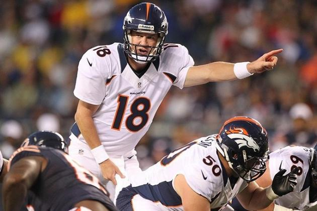 Fantasy Football 2012: Peyton Manning Leads Revelations from Thursday's Action