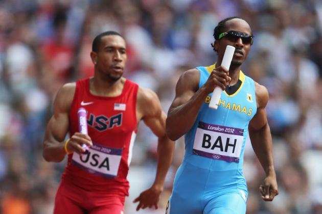 Olympic 4x400 Predicted Finishes for US and Blade Runner's South Africa Team
