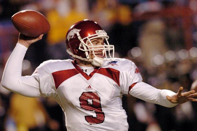 Classic SEC Football: Arkansas Tops Ole Miss in 2001 in 7 Overtimes