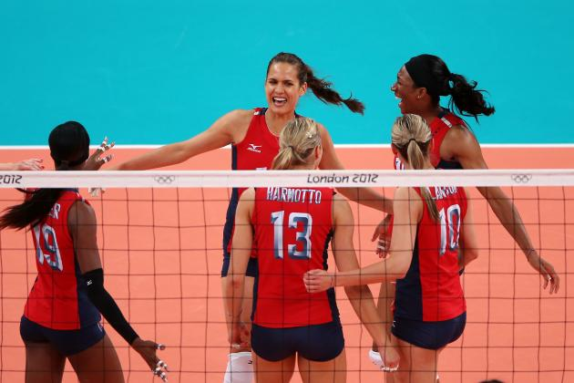 USA vs. Brazil Olympic Volleyball: US Will Avenge Beijing Loss with London Win