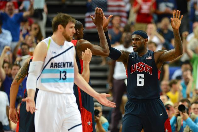 USA vs. Argentina: Grades, Twitter Reaction and Analysis for Olympics Semifinals