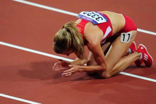 Jinxed US Track Star Morgan Uceny Tumbles to Track in 2nd Straight Major Final