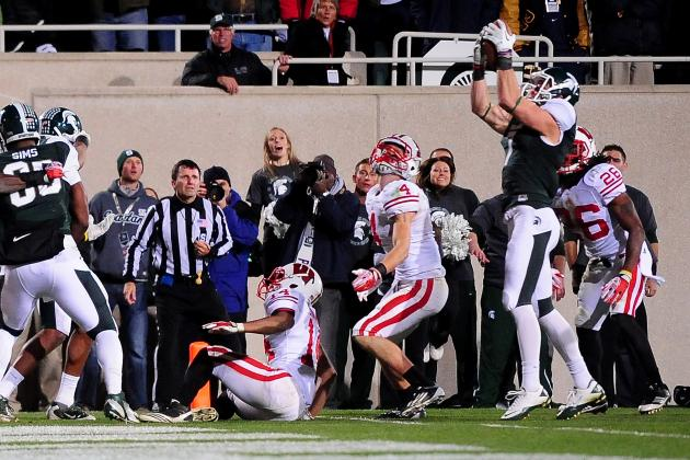 Classic Big Ten Football: Wisconsin at Michigan State, 2011