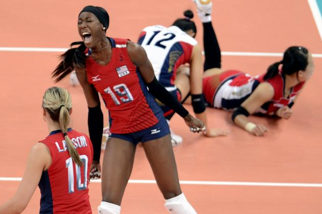 Destinee Hooker: US Olympic Volleyball Star Could Medal in 3 Sports at Rio 2016