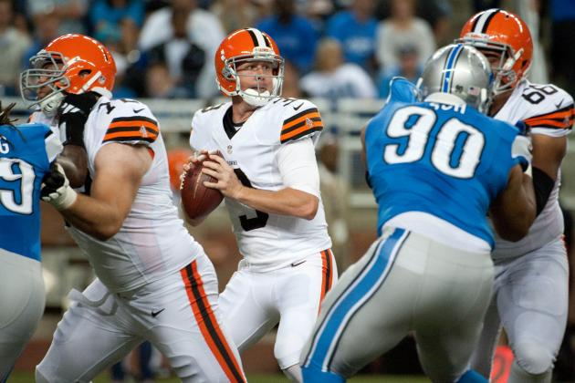 Brandon Weeden: QB's Ugly Preseason Debut Shouldn't Concern Browns