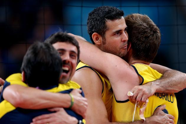 Olympic Volleyball 2012: Why Brazilian Men Will Be Unstoppable on Way to Gold