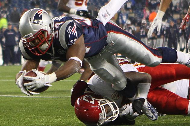 Vereen Appears to Be at Bottom of Pecking Order for New England Patriots