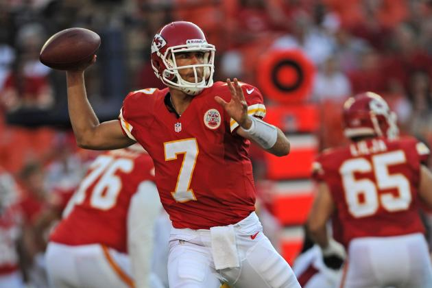 Matt Cassel Walked Away as the Biggest Winner from Kansas City Chiefs' 27-17 Win