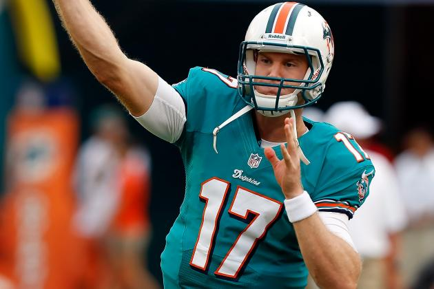 With David Garrard out of the Picture, Dolphins Should Start Ryan Tannehill