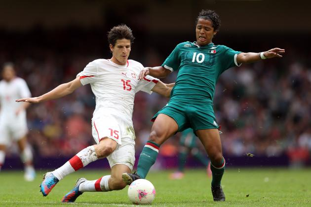 London 2012: Giovani dos Santos Officially Ruled out for Gold-Medal Final