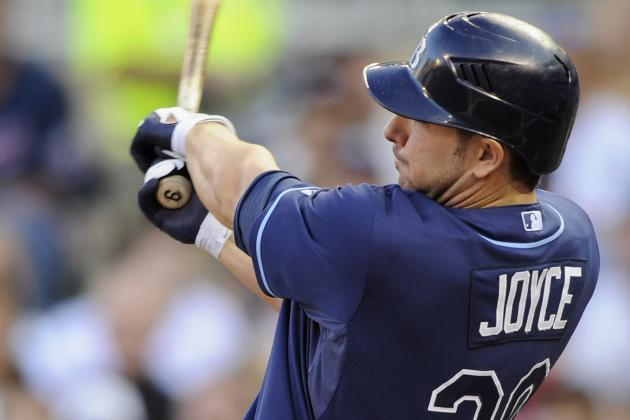 Matt Joyce Broke Tampa Bay Rays Teammate's Bat After Hitting Home Run with It