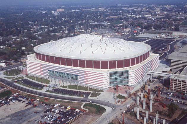 Tennessee vs. NC State in Atlanta: It's Not the G.D. (Georgia Dome) Building