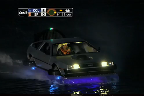 McCovey Cove goes back to the future