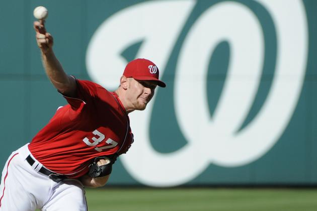 Washington Nationals Should Shut Stephen Strasburg Down for a Month