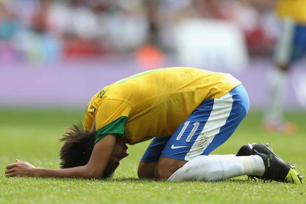 Neymar: London 2012 Performance Shows Brazil Star Not Ready for Europe
