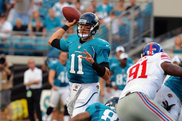 Jacksonville Jaguars Preseason Week 1 Review: Goo Goo over Gabbert?