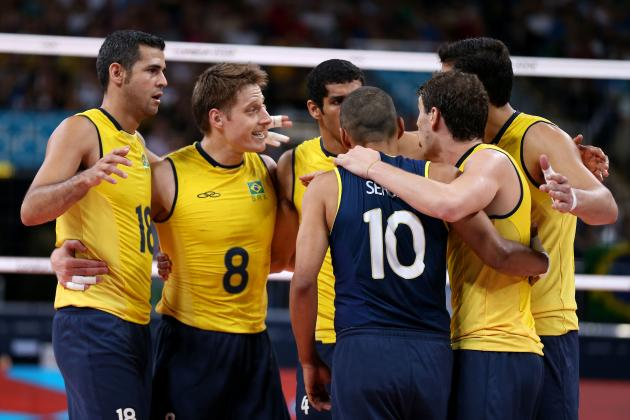 Olympic Volleyball 2012: Brazil Will Cement Men's Volleyball Legacy with Gold