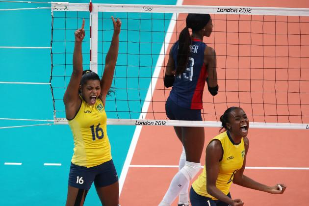 Olympic Volleyball 2012 Results: American Women Lose Gold Medal to Brazil