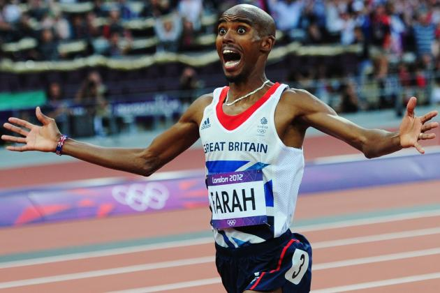 Mo Farah Becomes British Olympic Hero, Wins 5,000 and 10,000-Meter Double