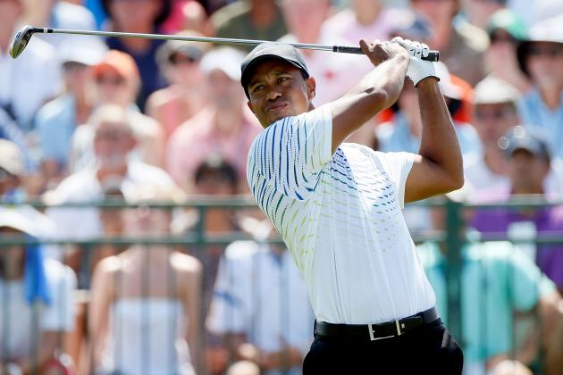 Tiger Woods at PGA Championship 2012 Tracker: Day 3 Highlights, Updates and More