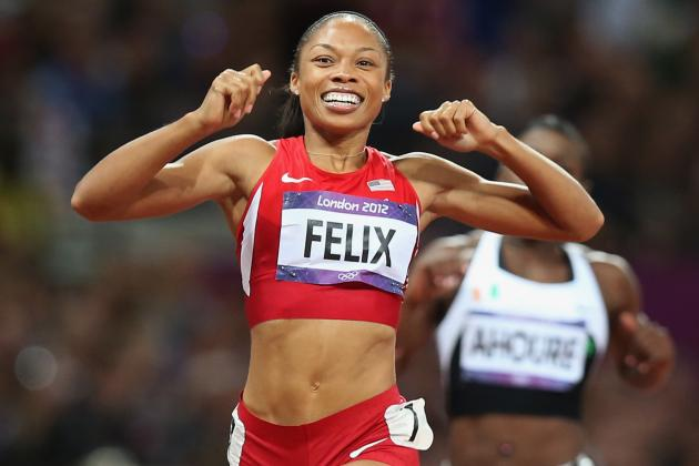 Women's Track and Field: Allyson Felix Seals Her Title as MVP of London Games